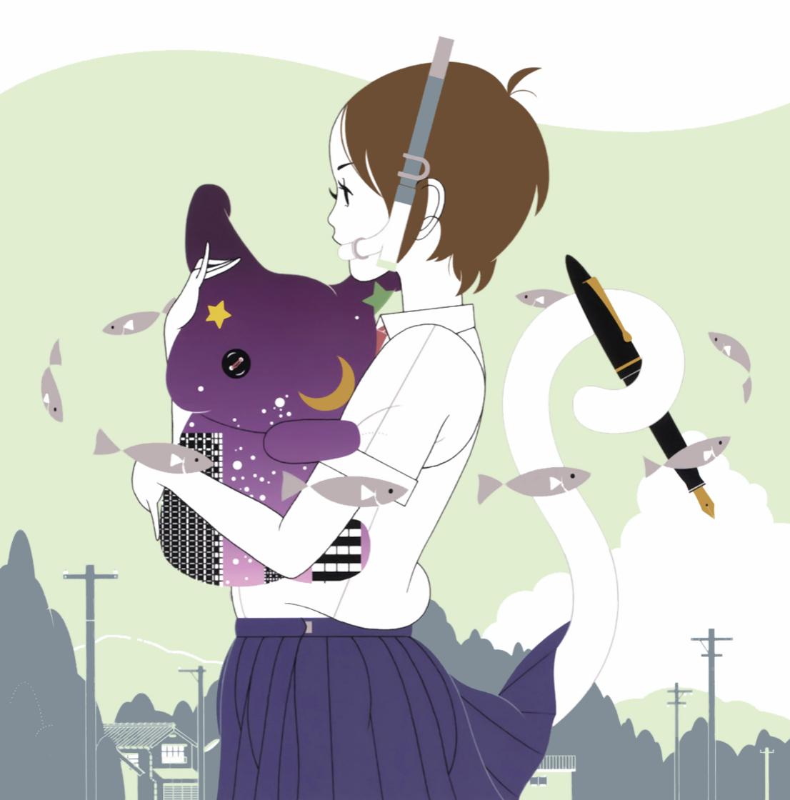 Monoblog中村佑介イラストレーションブックに詞を書きました