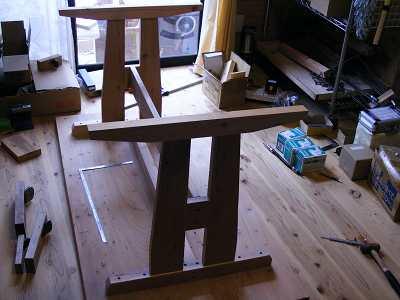 屋久島の杉のテーブル