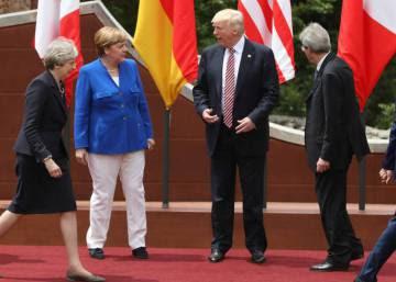 Trump deja clara su discrepancia con las políticas mayoritarias del G7