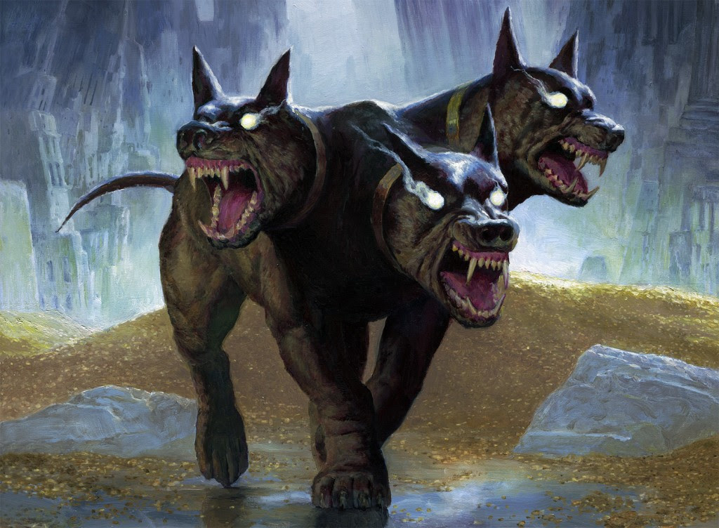 MtG Art: Kunoros, Hound of Athreos from Theros Beyond ...