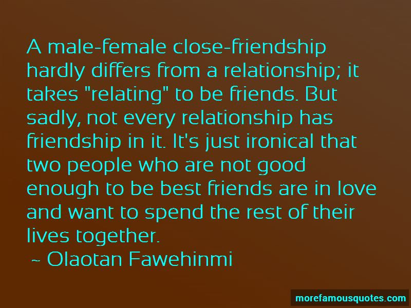 Quotes About Male And Female Best Friends Top 2 Male And Female