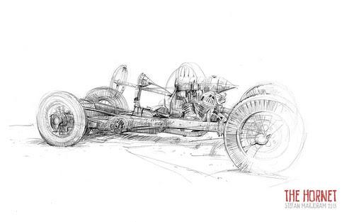 The Hornet by Stefan Marjoram