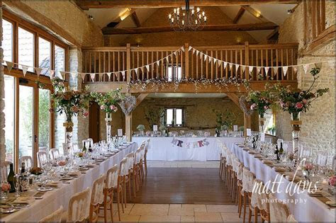 Outdoor wedding at Kingscote Barn, Gloucestershire