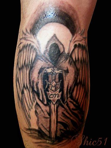 Tatuaje Angel De La Muerteangel Of Death A Photo On Flickriver