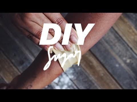 [01] DIY SUGAR WAX FOR BEGINNERS | Hair Removal Hack | abetweene