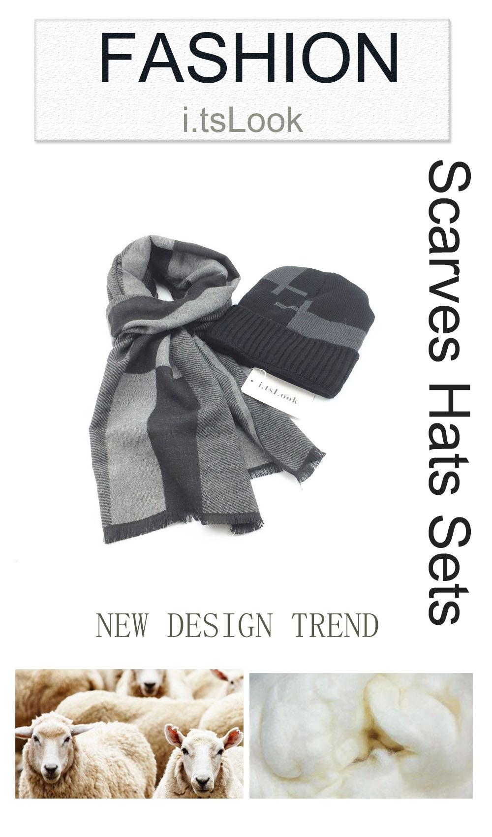 b518426d8d937 ... Beanies Snow Cap Christmas gifts BF-403. Brand  i.tsLook. Description   bufanda. Style  2017 Men scarf