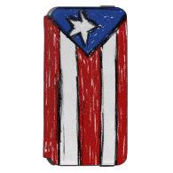 Puerto Rican Flag Incipio Watson™ iPhone 6 Wallet Case