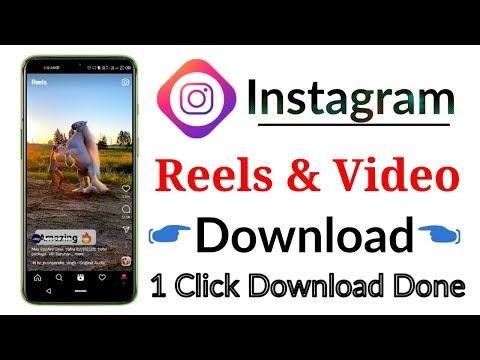 Instagram reels download apk & instagram reels song download