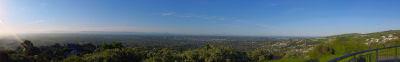 Cracroft Hill overlooking Christchurch 2004-10-22