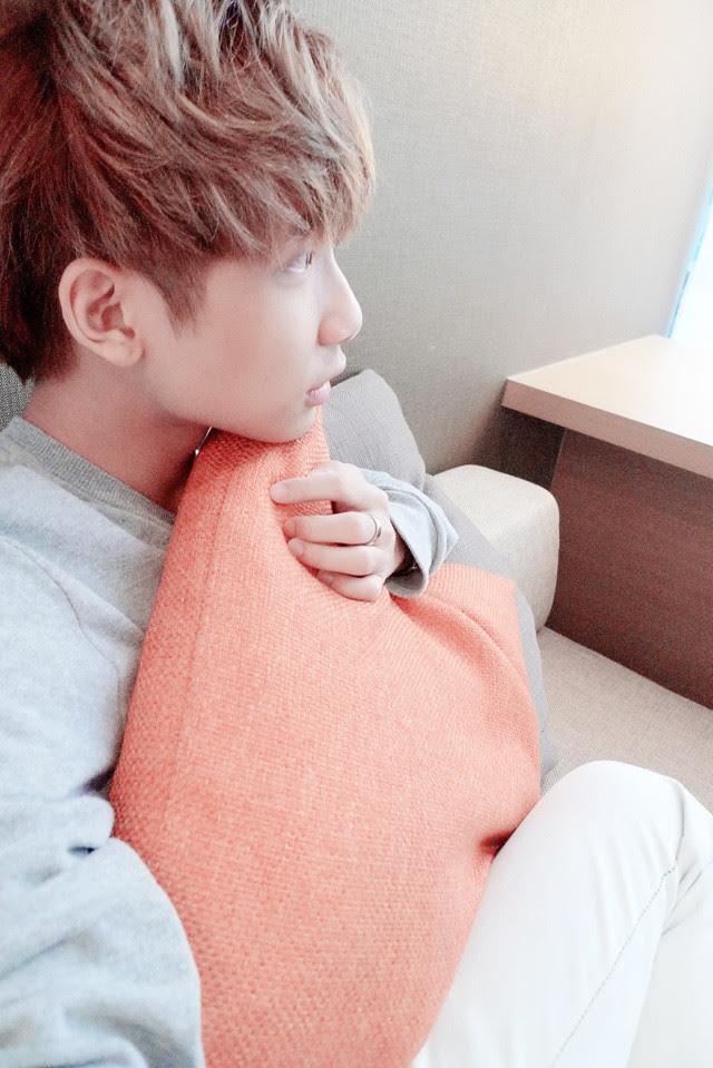 typicalben with orange cushion studio m hotel