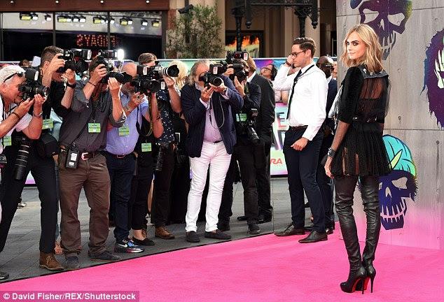 Superstar: Os olhos do mundo adorou fotografar a vir-modelo e atriz