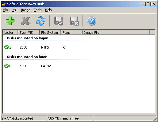 SoftPerfect RAM Disk 4.0 free download - Downloads ...