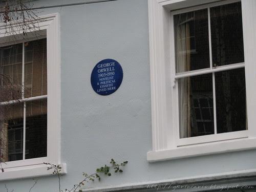 George Orwell's home