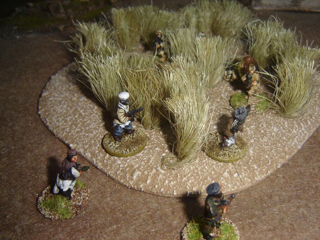 Assault on British advance