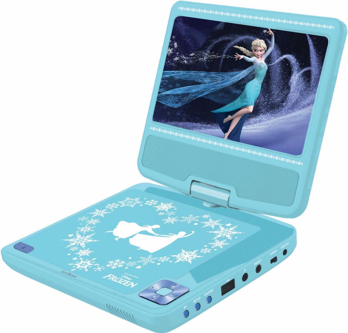 Lexibook Tragbarer DVD Player Disney Frozen
