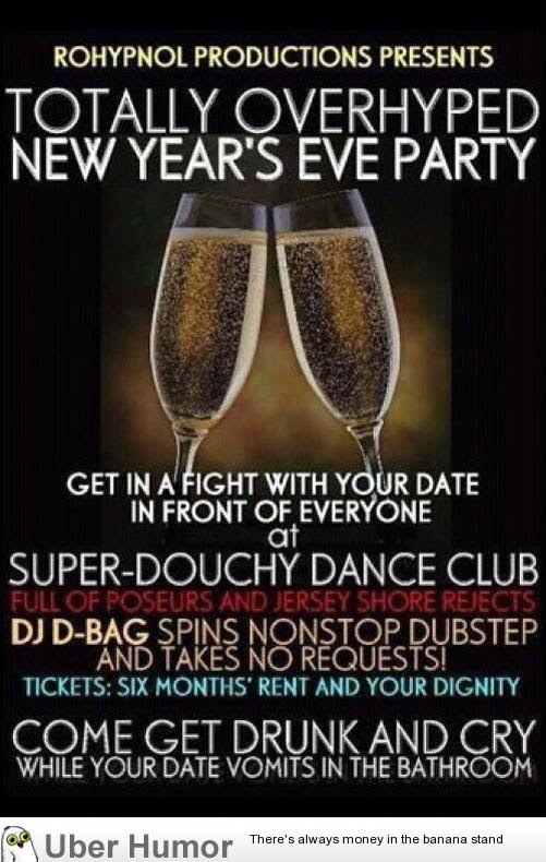 This Sums Up Every Club On New Years Eve Funny Pictures Quotes