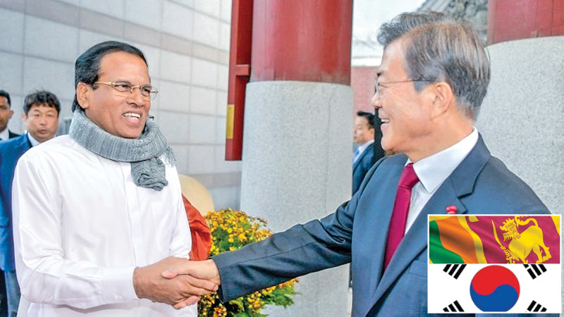 Extraordinary gesture of friendship from President Moon