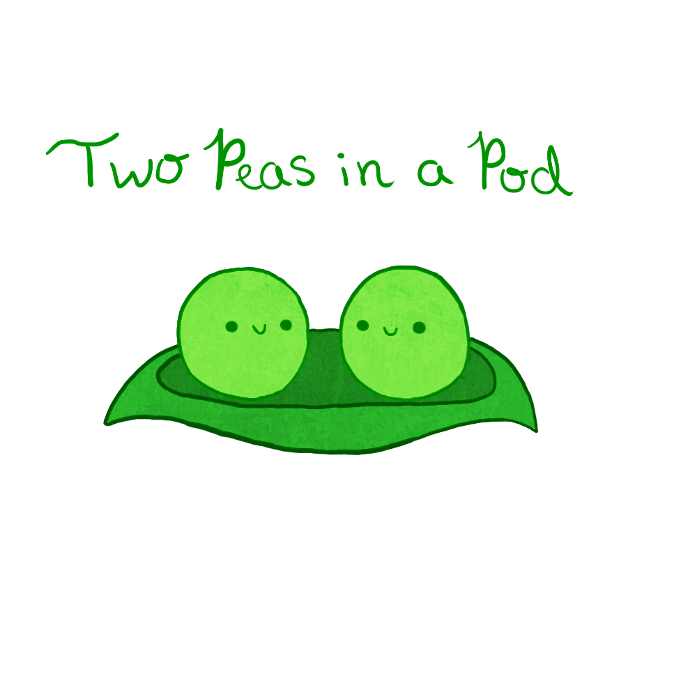 Two Peas In A Pod Png Transparent Two Peas In A Podpng Images