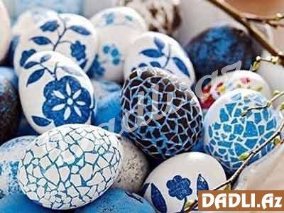 Novruz Bayramı Yumurta Boyama Dadliaz Dadlı Reseptlər Tort
