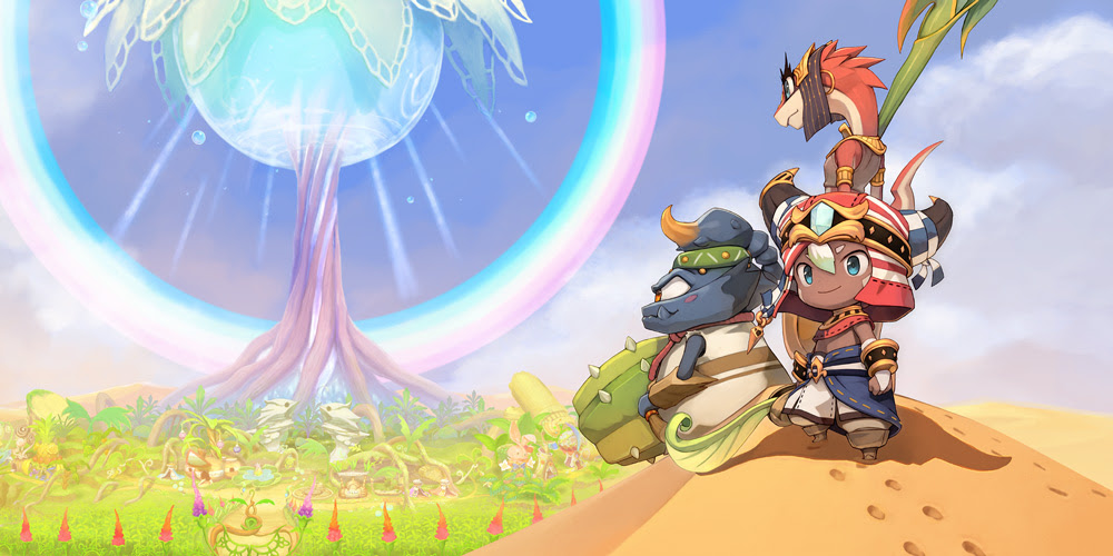 Nintendo Download: Ever Oasis screenshot