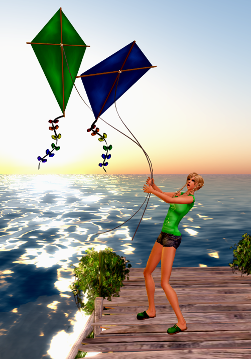 Adorkable Kite Poses - Limited Free Gift