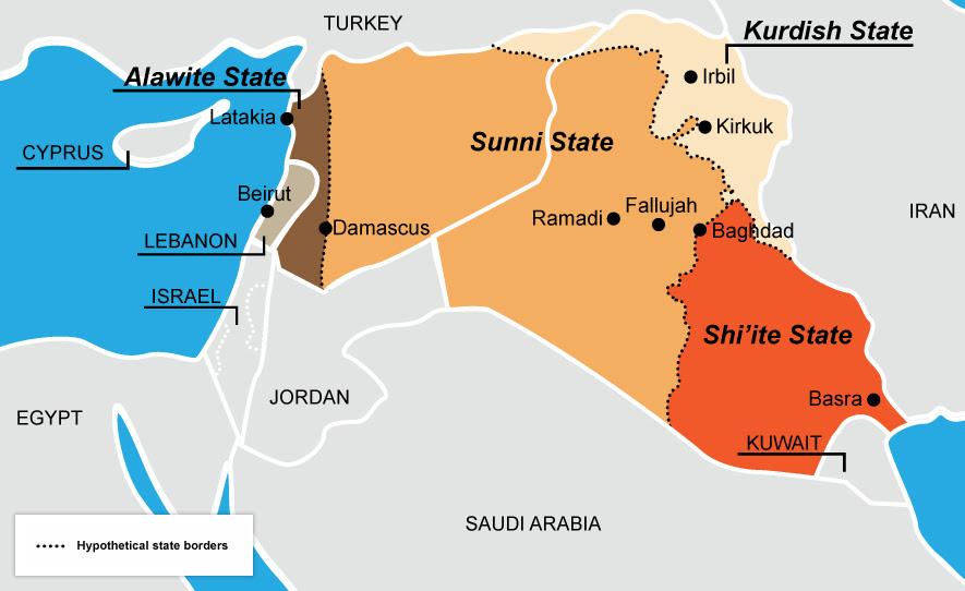 Resultado de imagen para creación de un territorio fronterizo dominado por las fuerzas kurdas