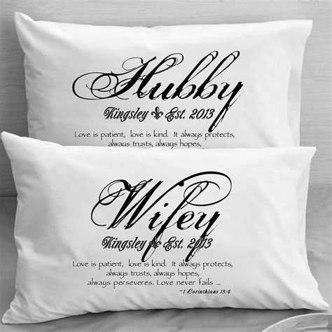 1 Corinthians 13 Love Bible Verse Pillow Cases Wife by