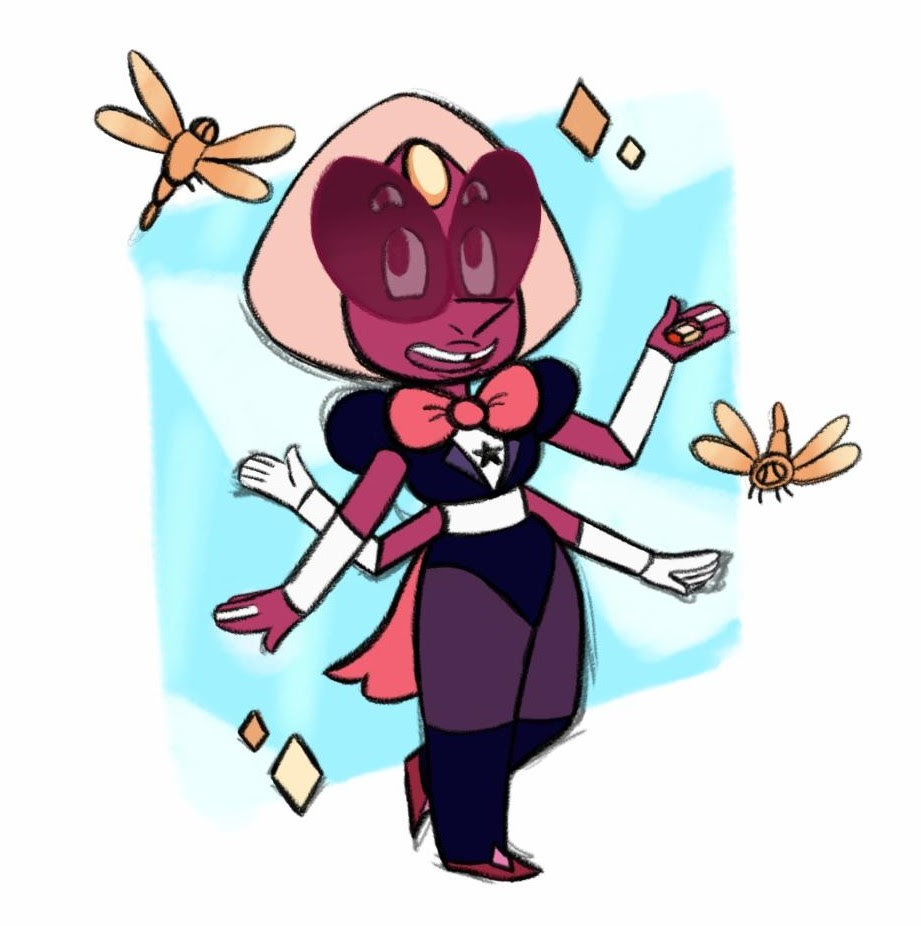 A little Sardonyx I drew during a lecture yesterday! I'm kind of proud of this one ^^;;;