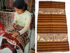 Kain tradisional Lampung