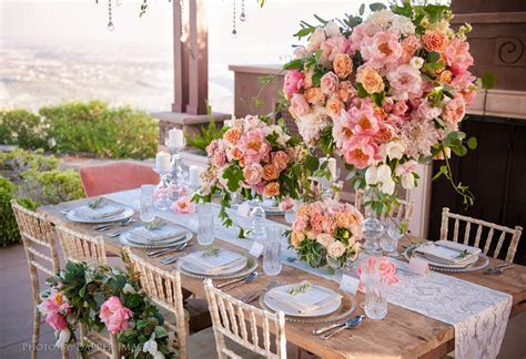 Flower   Reception Ideas for a Garden Wedding   Desiree