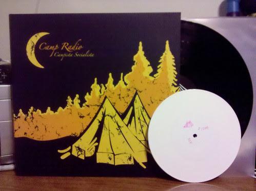 """Camp Radio - Campista Socialist LP + Bonus 7"""" (White Vinyl)"""