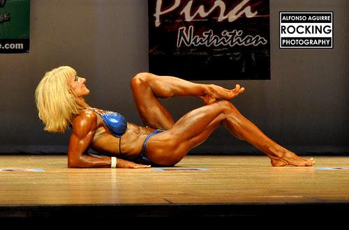 Jessica Wilson, bodybuilder by Alfonso Aguirre Rock Singer