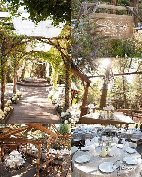 Wedding at the Pine Rose Cabins, Hidden Creek Lodge in