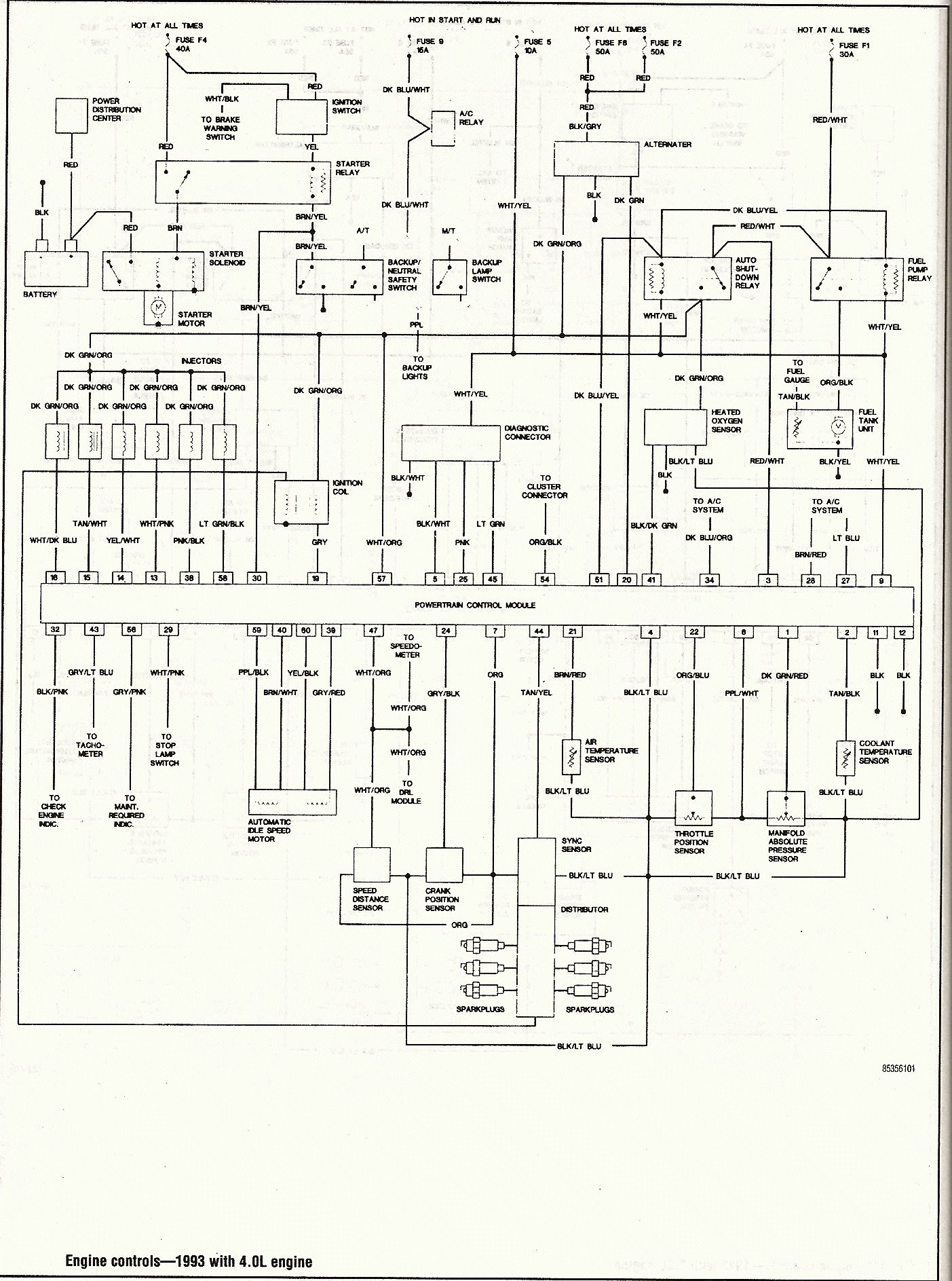 Diagram 1998 Jeep Wrangler Wiring Diagram Full Version Hd Quality Wiring Diagram Toro As4a Fr
