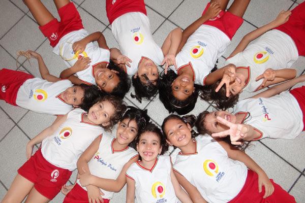Crianças aprendem o valor da convivência e dos afetos desde cedo