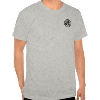 Celtic Round Dog Shirt shirt