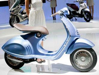 LaVespa Quarantasei: stile unico, ma anche tanta tecnologia al servizio dell'ambiente per uno scooter che arriverà sul mercato entro la fine del 2012