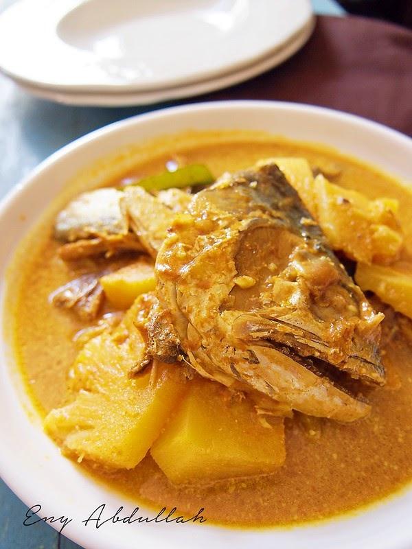 Gulai Nenas Ikan Talang Masin