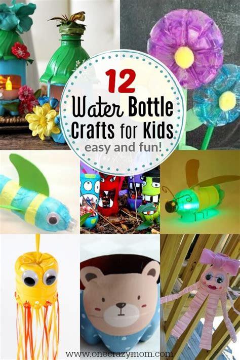 water bottle crafts  kids easy plastic bottle crafts