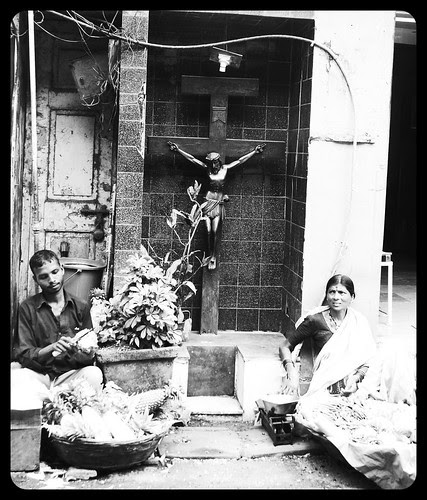 Bandra Bazar Where The Bhaiyya The Marathi Manoos And Jesus Live In Peace by firoze shakir photographerno1