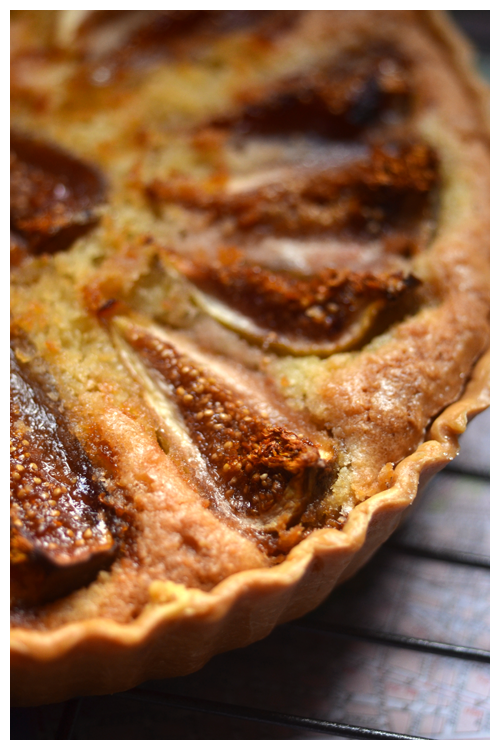fig frangipane tart© by Haalo