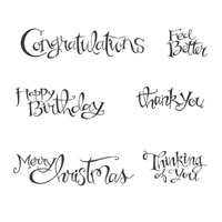 Sassy Salutations Wood Stamp Set