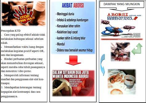 fahadh abdurahman leaflet kehamilan tidak  inginkan ktd