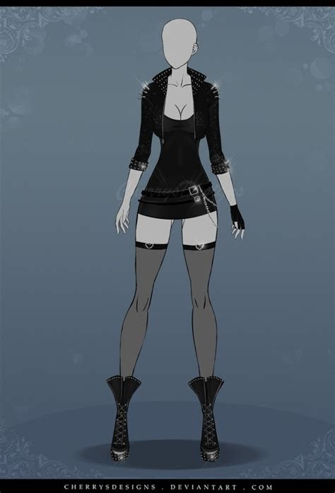 nice outfit   anime dress character