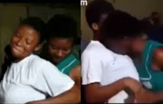 Disturbing video of Ghanaian female secondary school students caressing each other while dancing seductively (18+)
