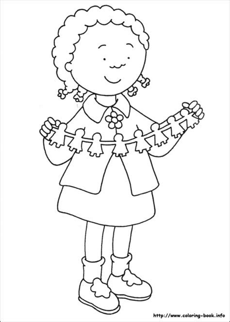 caillou coloring pages gkhlz