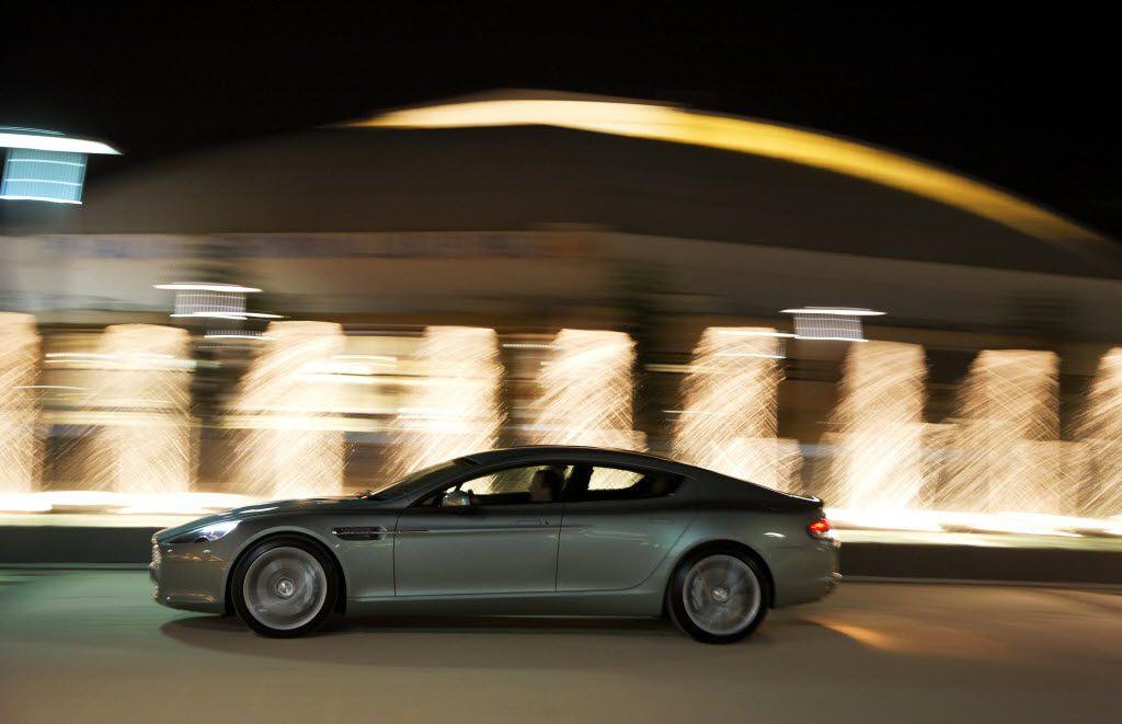Aston Martin Considers 800 Horse Electric Car