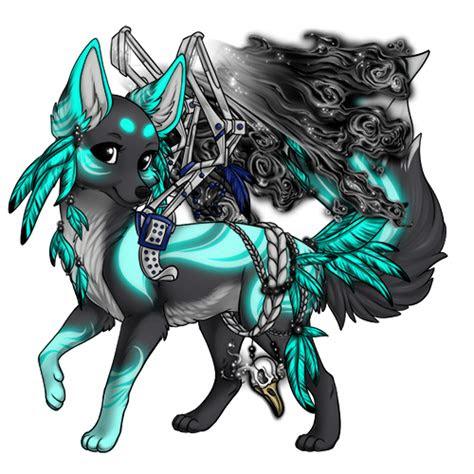 pin  haley kerstetter  sylestia wolf fantasie tiere