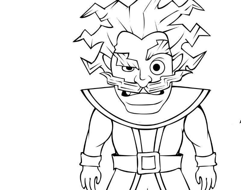 Dibuja A El Mago Electrico Clash Royale Amino ️ Amino