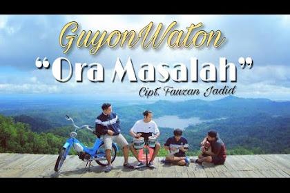 Guyon Waton Ora Masalah (lirik)